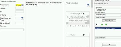Firmenname-Workflow